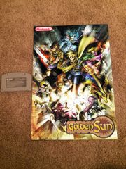 Golden Sun Poster (18x12 in)