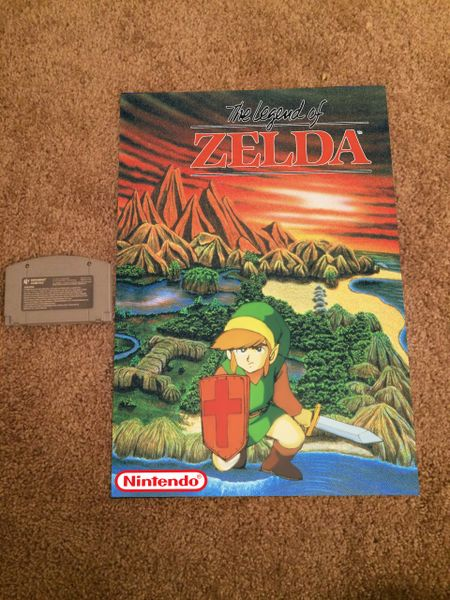 Legend of Zelda Poster (18x12 in)