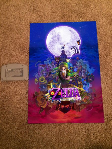 Majora's Mask 3DS Poster (18x12 in)