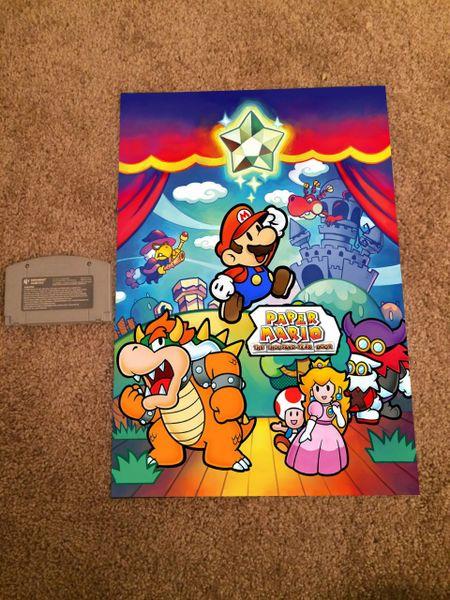 Paper Mario: The Thousand Year Door Poster (18x12 in)