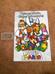 Paper Mario N64 Poster (18x12 in)