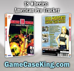 18 Wheeler: American Pro Trucker Sega Dreamcast Game Case