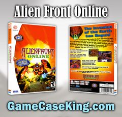 Alien Front Online Sega Dreamcast Game Case