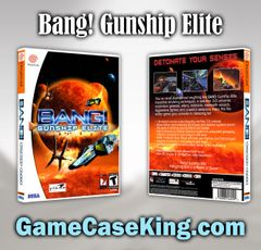 Bang! Gunship Elite Sega Dreamcast Game Case