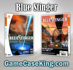 Blue Stinger Sega Dreamcast Game Case