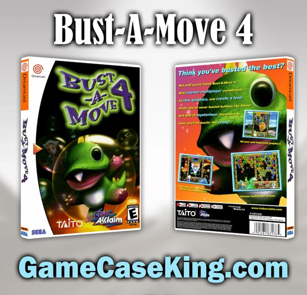 Bust-A-Move 4 Sega Dreamcast Game Case