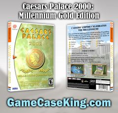 Caesars Palace 2000: Millennium Gold Edition Sega Dreamcast Game Case
