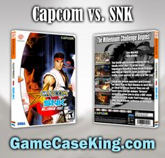Capcom vs. SNK Sega Dreamcast Game Case