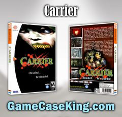 Carrier Sega Dreamcast Game Case