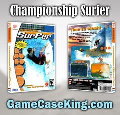 Championship Surfer Sega Dreamcast Game Case