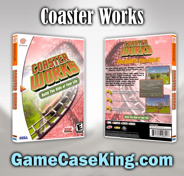 Coaster Works Sega Dreamcast Game Case