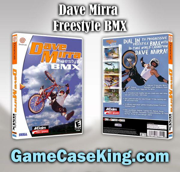 Dave Mirra Freestyle BMX Sega Dreamcast Game Case