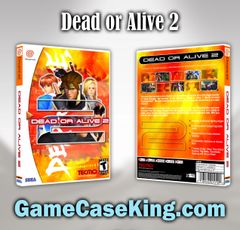Dead or Alive 2 Sega Dreamcast Game Case