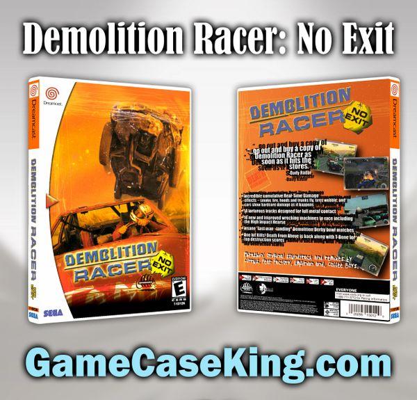 Demolition Racer: No Exit Sega Dreamcast Game Case