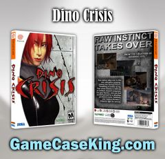 Dino Crisis Sega Dreamcast Game Case