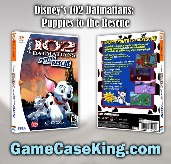 Disney's 102 Dalmatians: Puppies to the Rescue Sega Dreamcast Game Case