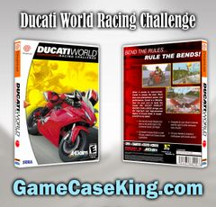 Ducati World Racing Challenge Sega Dreamcast Game Case