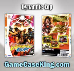 Dynamite Cop Sega Dreamcast Game Case