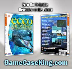 Ecco the Dolphin: Defender of the Future Sega Dreamcast Game Case