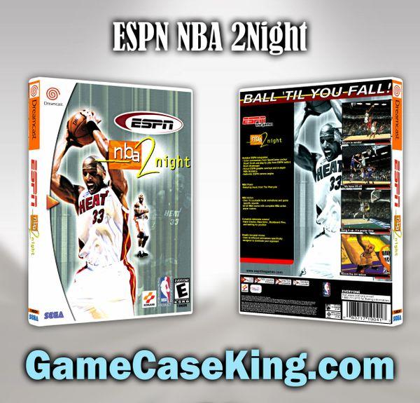 ESPN NBA 2Night Sega Dreamcast Game Case