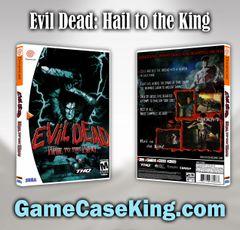Evil Dead: Hail to the King Sega Dreamcast Game Case