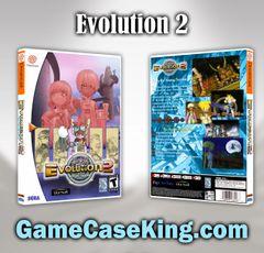 Evolution 2 Sega Dreamcast Game Case