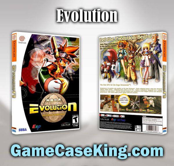 Evolution Sega Dreamcast Game Case