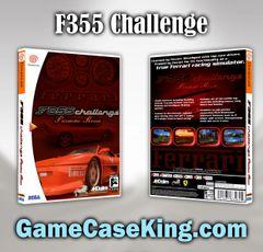 F355 Challenge Sega Dreamcast Game Case