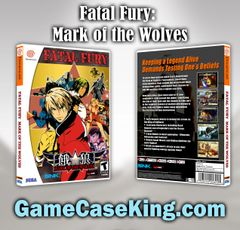 Fatal Fury: Mark of the Wolves Sega Dreamcast Game Case