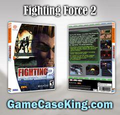 Fighting Force 2 Sega Dreamcast Game Case