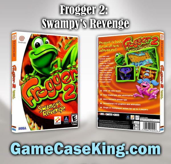 Frogger 2: Swampy's Revenge Sega Dreamcast Game Case