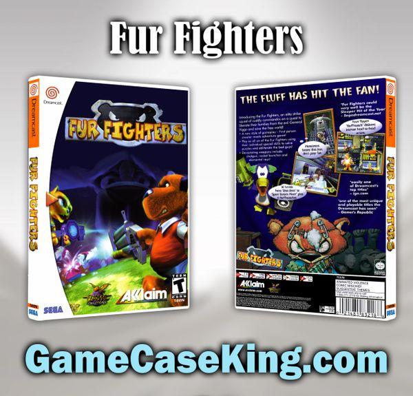 Fur Fighters Sega Dreamcast Game Case