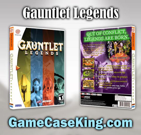 Gauntlet Legends Sega Dreamcast Game Case