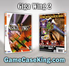 Giga Wing 2 Sega Dreamcast Game Case