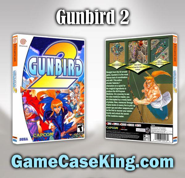 Gunbird 2 Sega Dreamcast Game Case