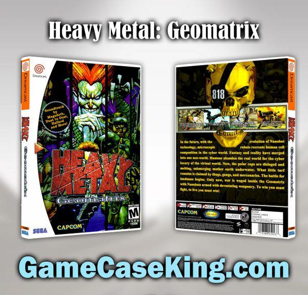Heavy Metal: Geomatrix Sega Dreamcast Game Case