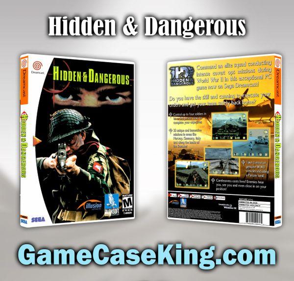 Hidden & Dangerous Sega Dreamcast Game Case