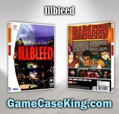 Illbleed Sega Dreamcast Game Case