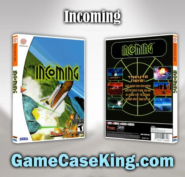 Incoming Sega Dreamcast Game Case