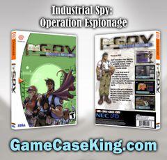 Industrial Spy: Operation Espionage Sega Dreamcast Game Case