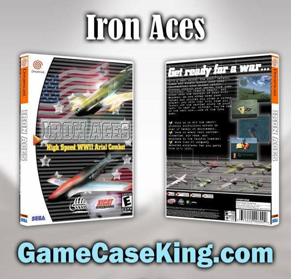 Iron Aces Sega Dreamcast Game Case