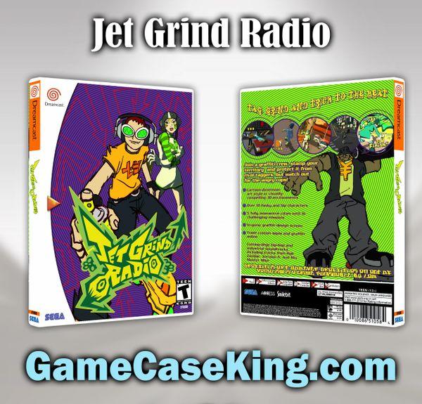 Jet Grind Radio Sega Dreamcast Game Case