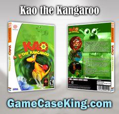 Kao the Kangaroo Sega Dreamcast Game Case