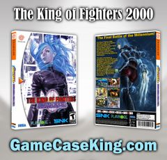 King of Fighters 2000, The Sega Dreamcast Game Case