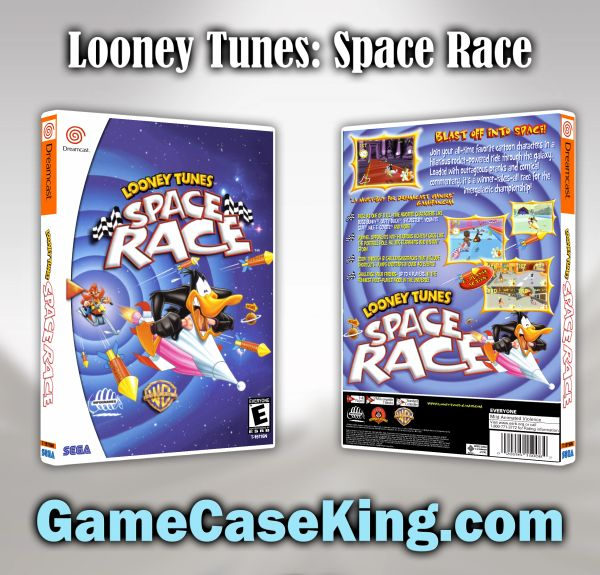 Looney Tunes: Space Race Sega Dreamcast Game Case