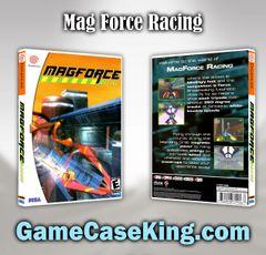 Mag Force Racing Sega Dreamcast Game Case