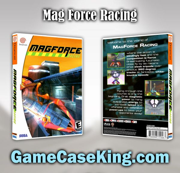 Mag Force Racing Sega Dreamcast Game Case