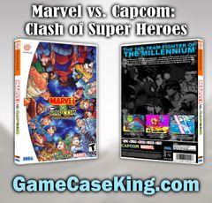 Marvel vs. Capcom: Clash of Super Heroes Sega Dreamcast Game Case