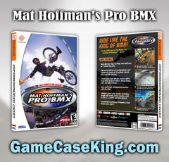 Mat Hoffman's Pro BMX Sega Dreamcast Game Case
