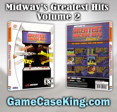 Midway's Greatest Hits Volume 2 Sega Dreamcast Game Case